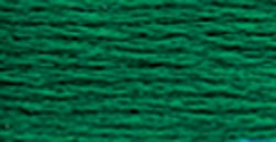 Set Of 12 DMC 6-Strand Embroidery Cotton 8.7yd-Ultra Very Dark Emerald Green