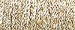 Kreinik M-002  Medium Metallic Braid #16 11yd-Gold
