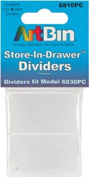 Art Bin Store In Drawer Dividers 10//Pkg 6810PC 3-Pack