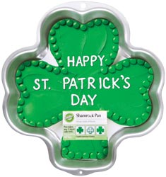 "Wilton - Novelty Cake Pan-Shamrock 11-3/4""X11-3/4""X2"" at Sears.com"