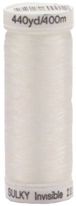 232UP-0001 Sulky Premium Invisible Thread 440yd-Clear