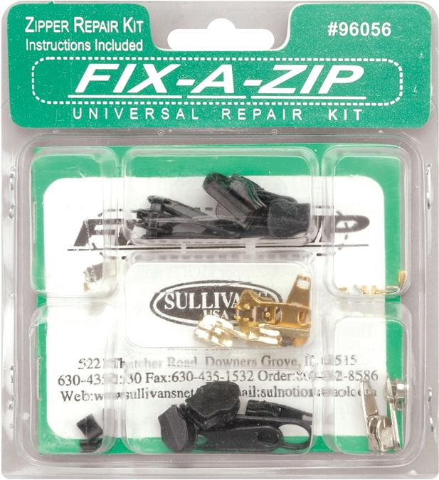 Sullivans 96056 Fix-A-Zip Universal Repair Kit
