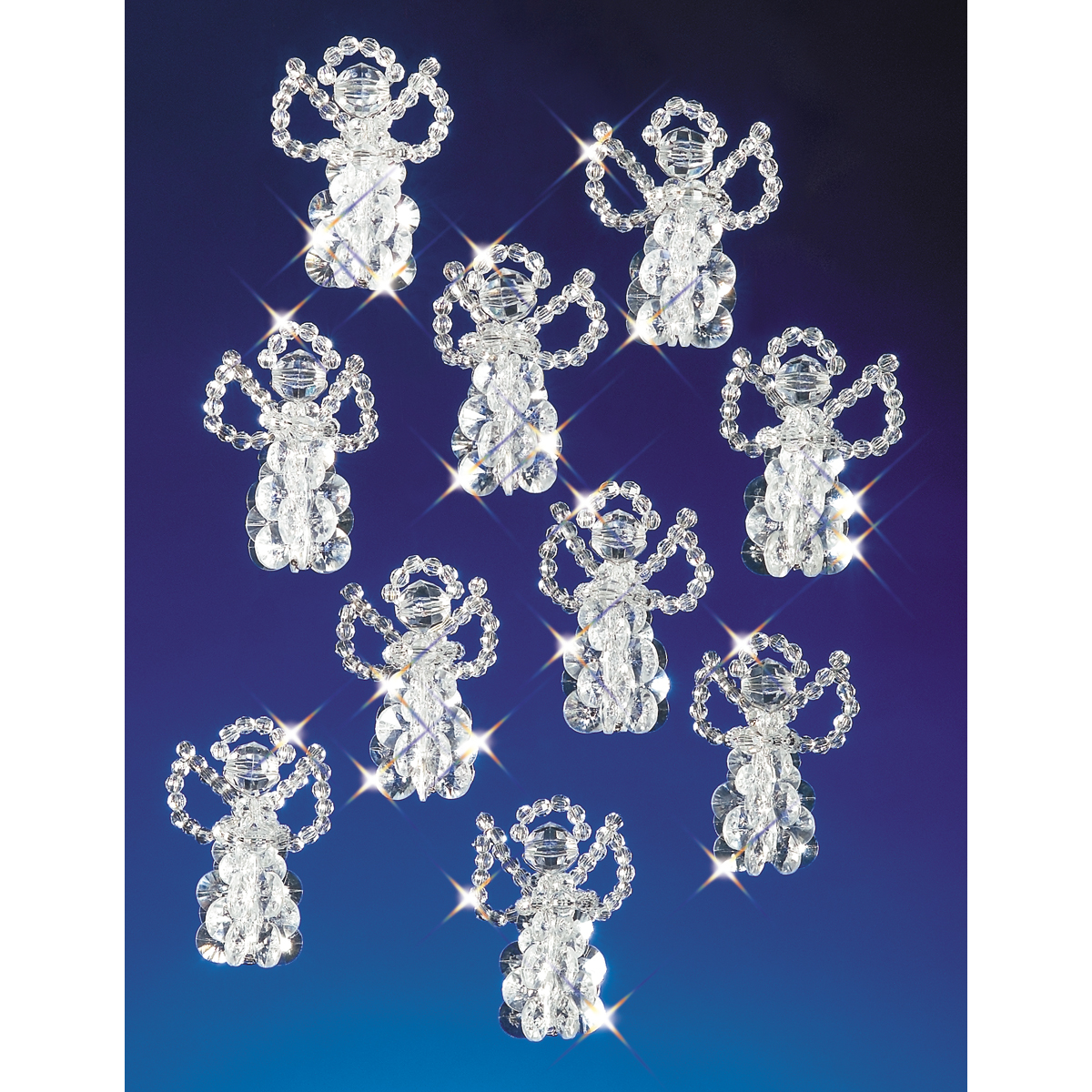 Beadery Holiday Beaded Ornament Kit, 2.5-Inch, Little ...