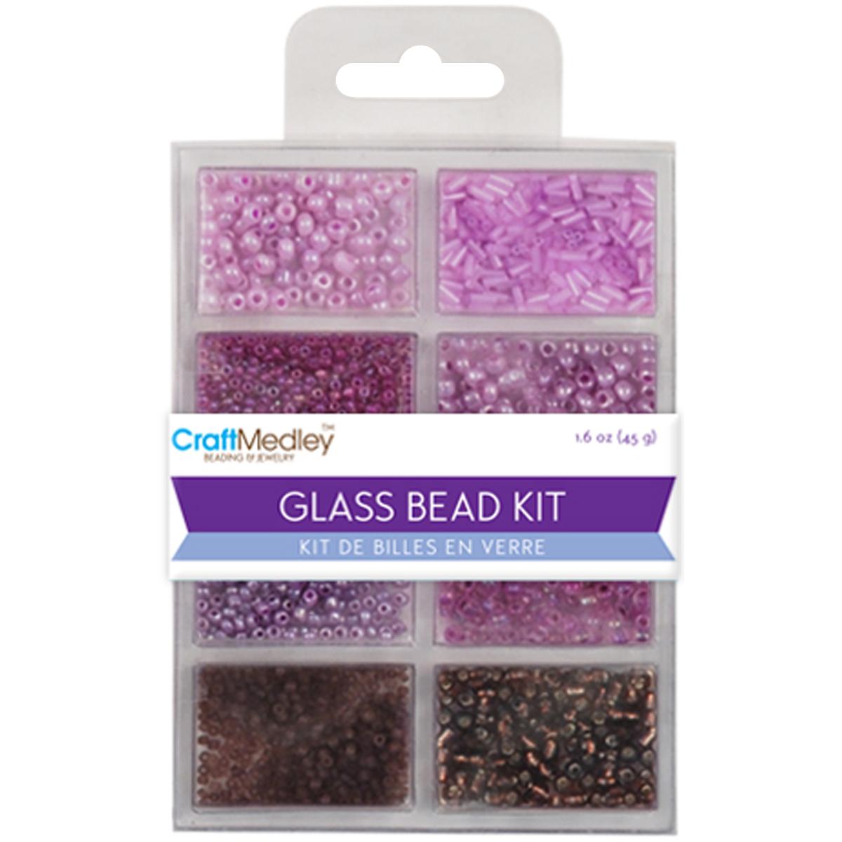 Glass Bead Kit 45g Viola BD705-F
