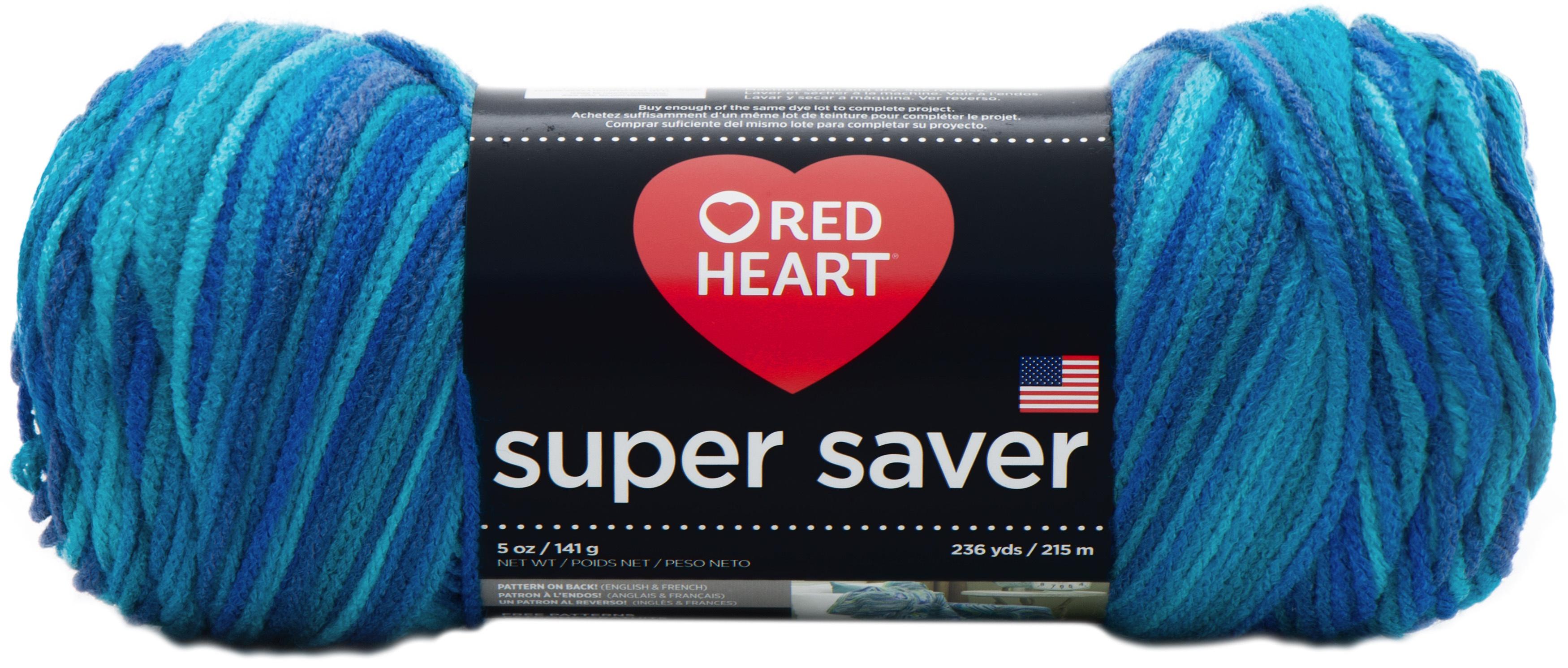 "Set Of 3/"" /""Red Heart Super Saver Yarn-Earthy"