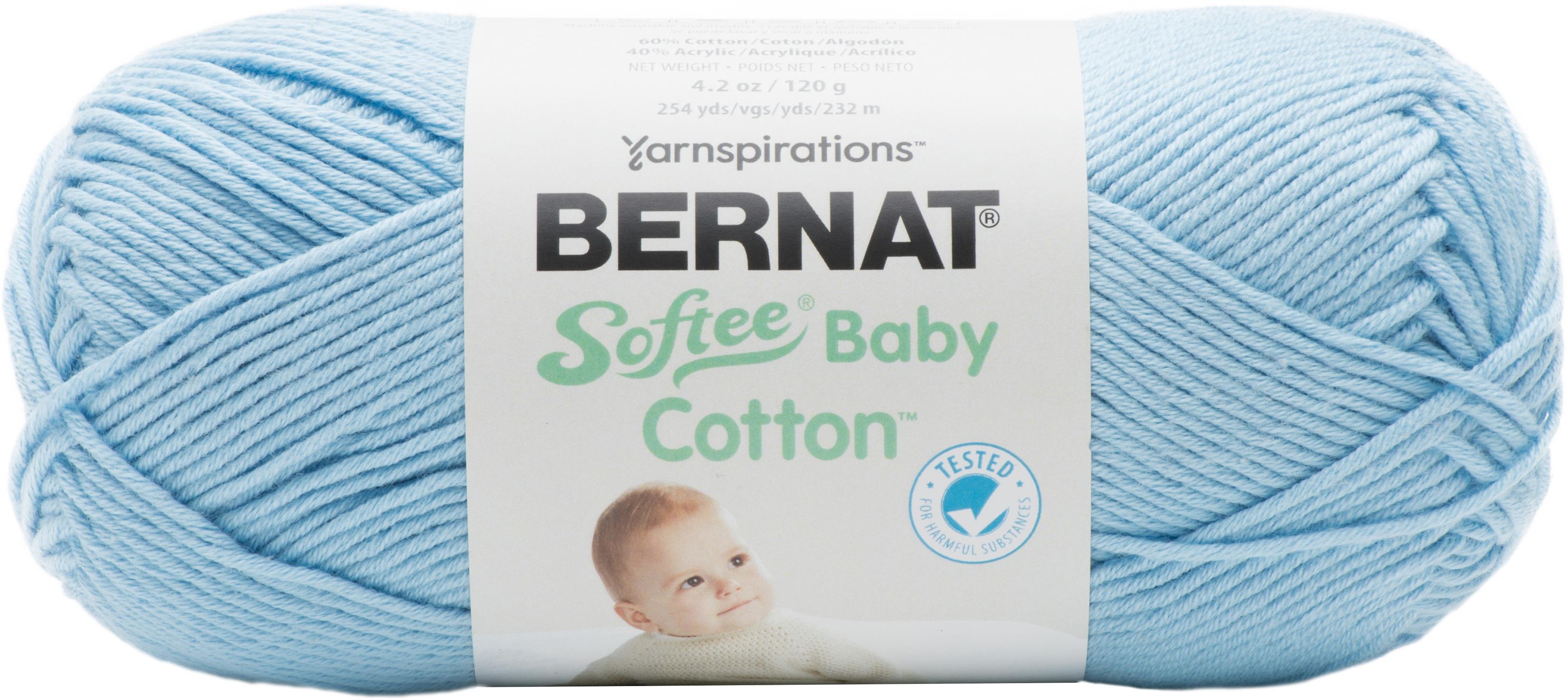 Bernat Softee Baby Cotton Yarn-Dusky Sky