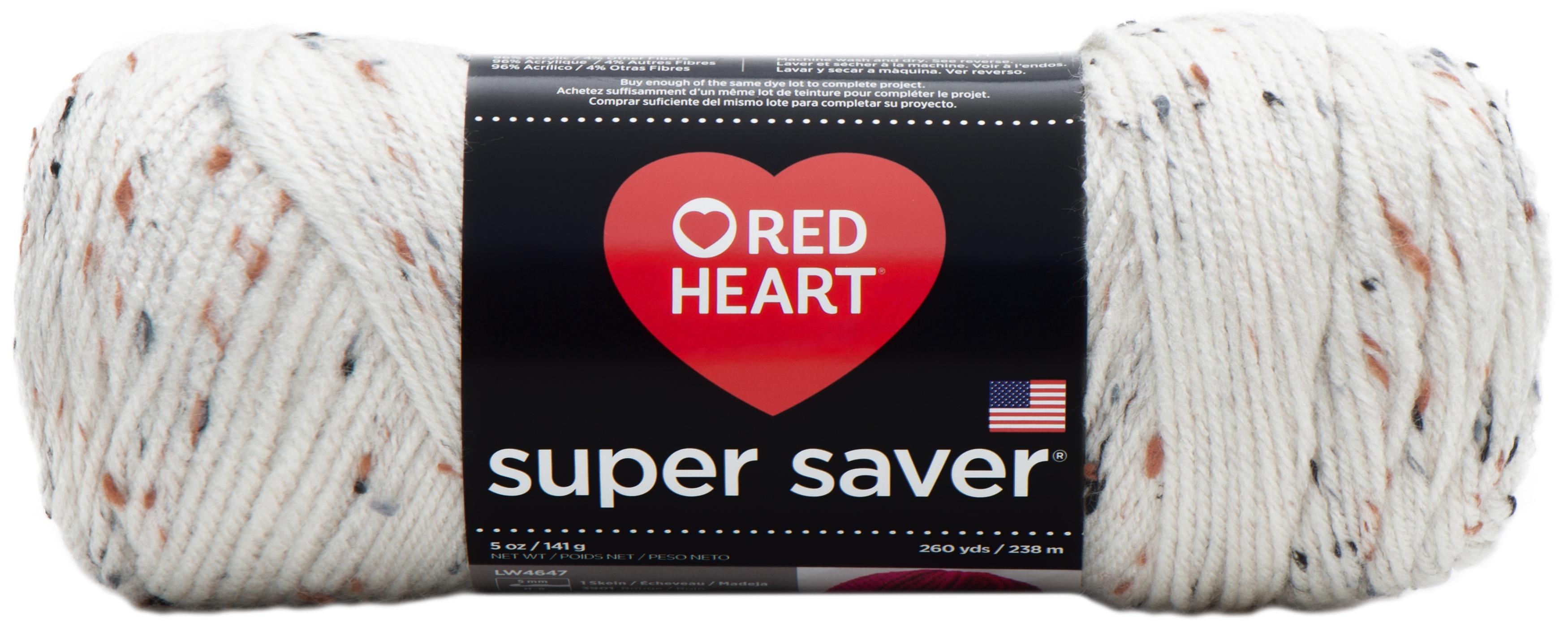 Coats Yarn E300-4315 Red Heart Super Saver Yarn-Neon Fleck 3Pk