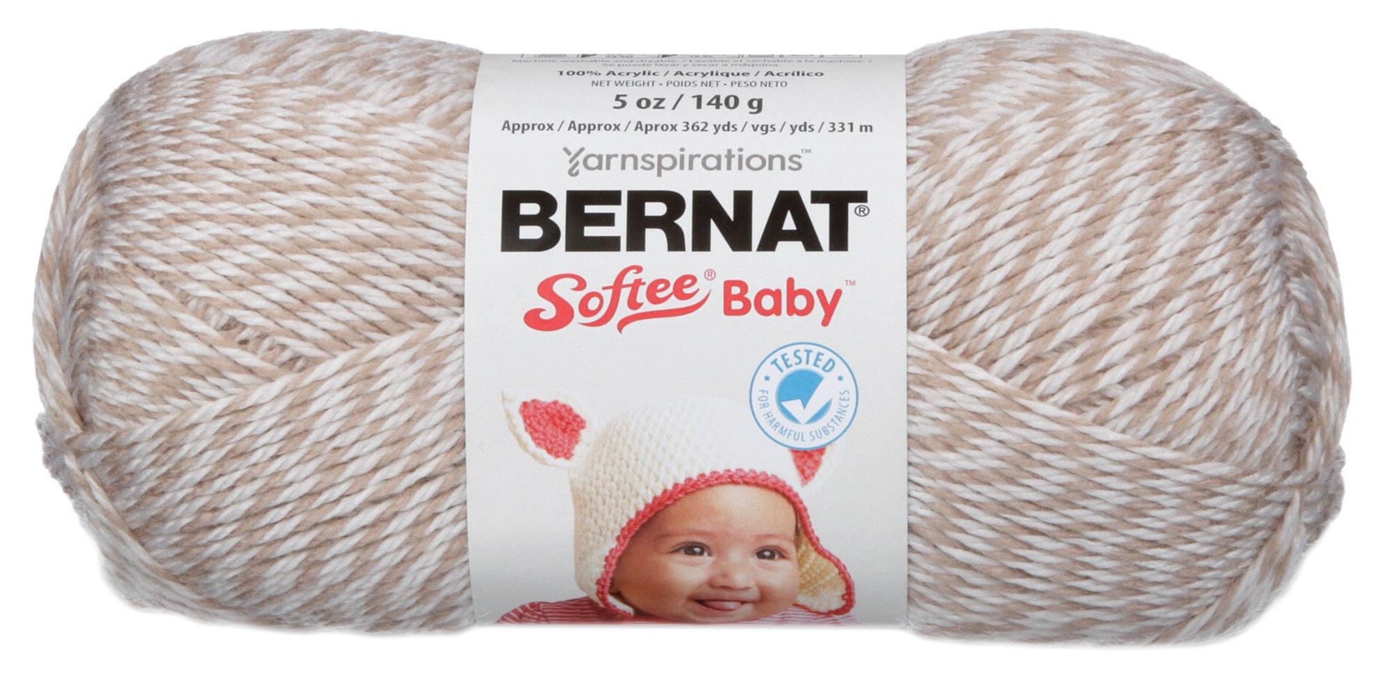 Solids-Little Mouse Marl 166030-30011 Bernat Softee Baby Yarn