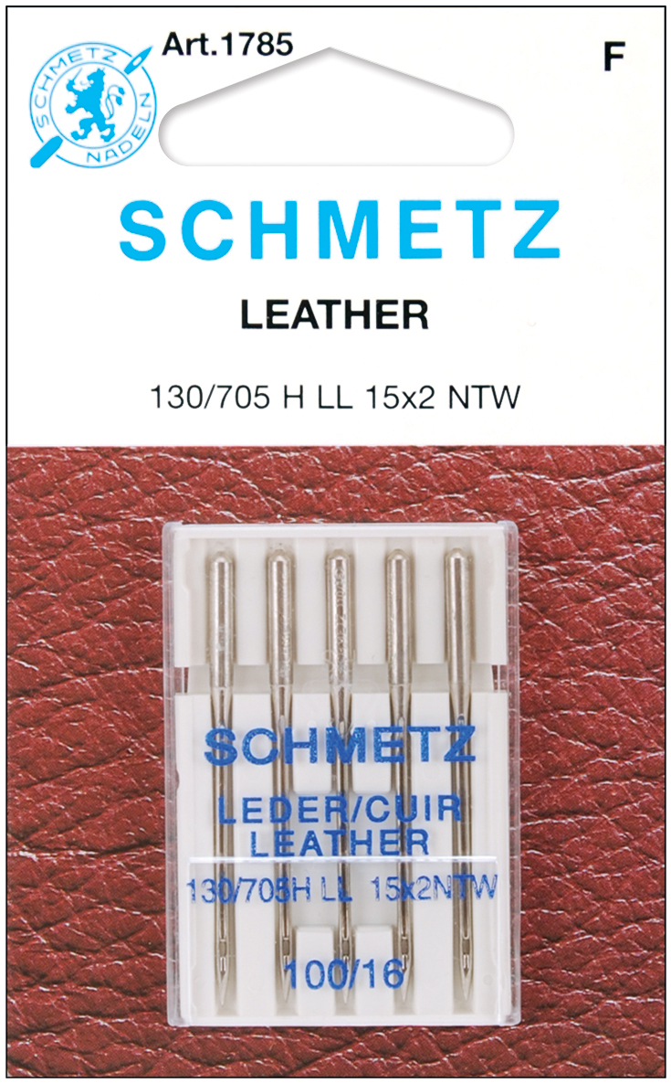 Euro Notions Leather Machine Needles-Size 16/100 5/Pkg