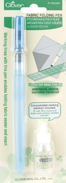 Clover Fabric Folding Pen- 4053