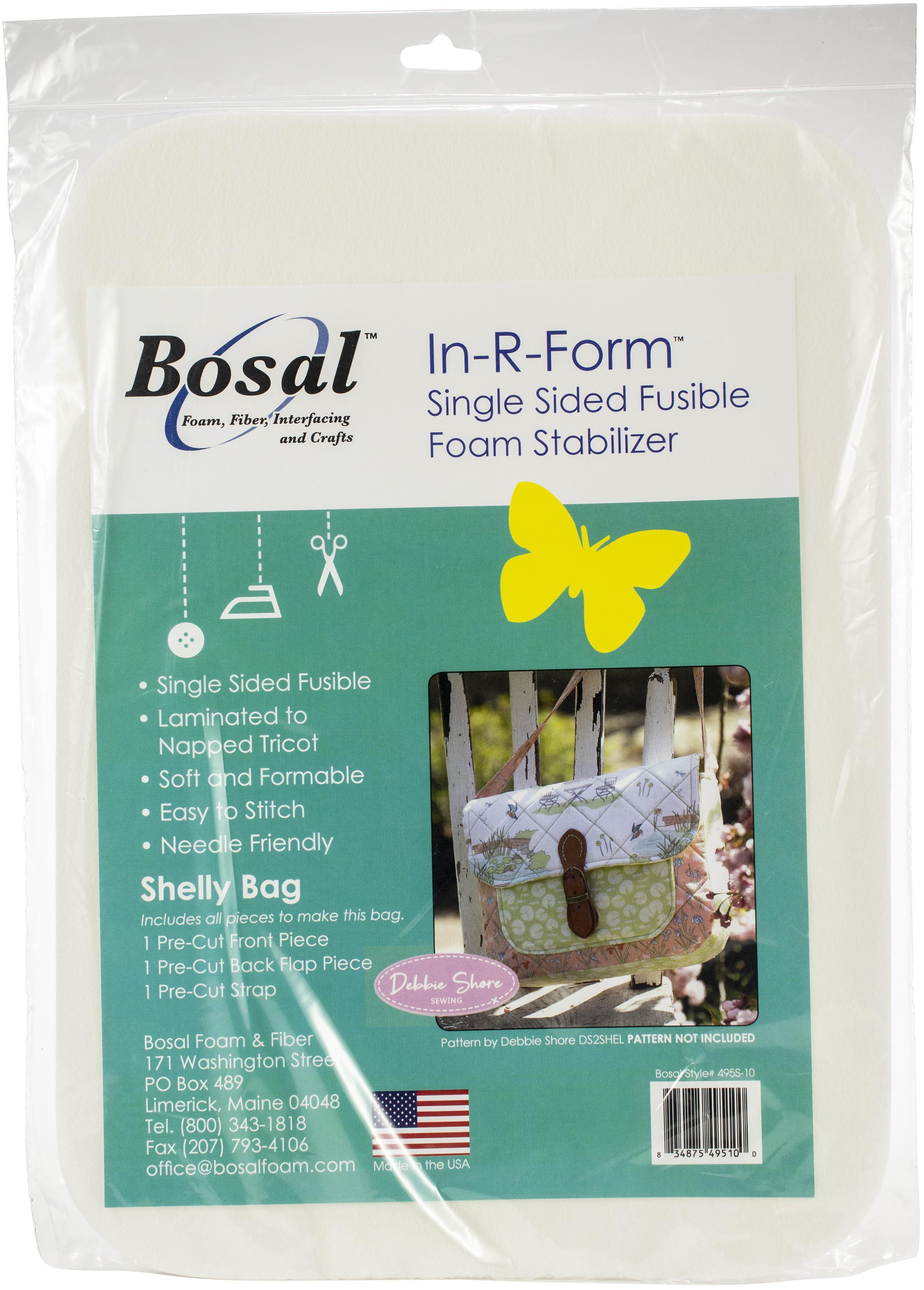 Bosal In-R-Form Unique Fusible Foam Stabilizer-Shelly Bag