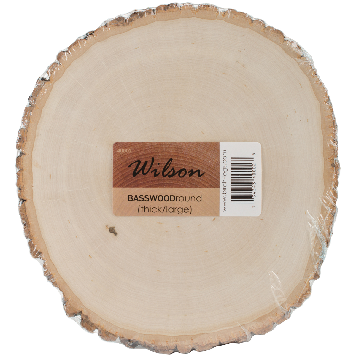 basswood thick round 9 to 11 40002