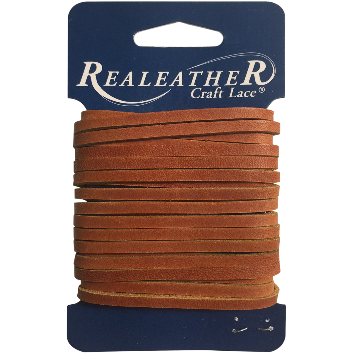 """Realeather Crafts Suede Lace .125/""""X25yd Spool-Cafe"""