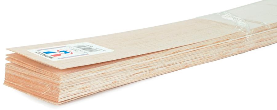 """Midwest Balsa Wood Sheet 36""""-1/32""""x3"""""""