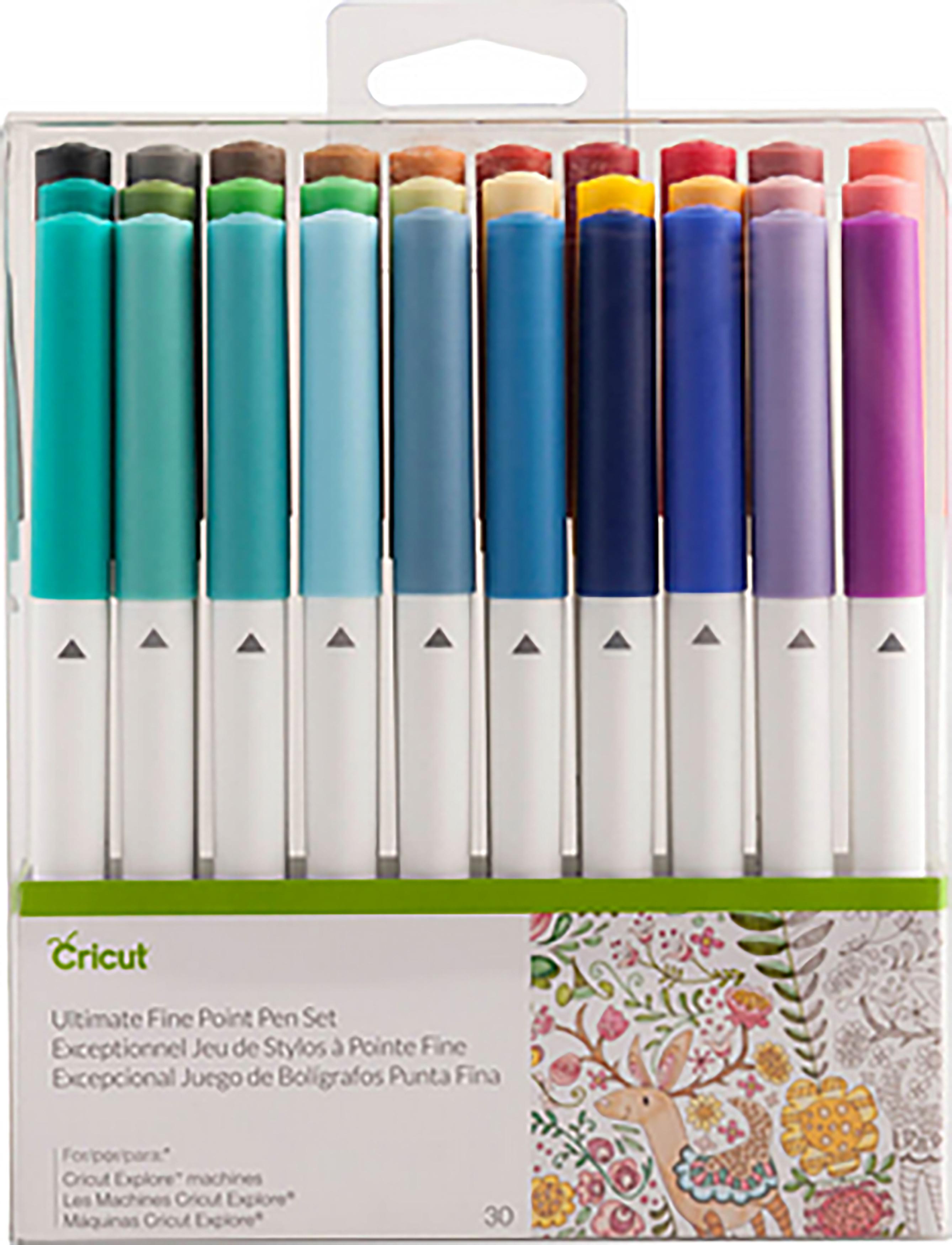 Cricut Ultimate Fine Point Pen Set 30//Pkg- 2004060