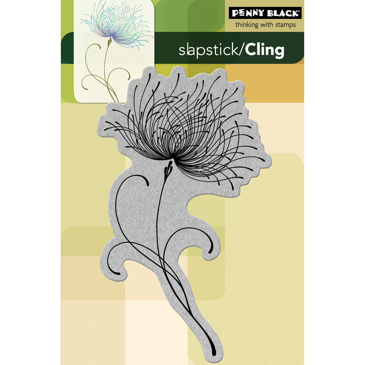 Penny Black Verdure Cling Unmounted Rubber Stamp 40-475