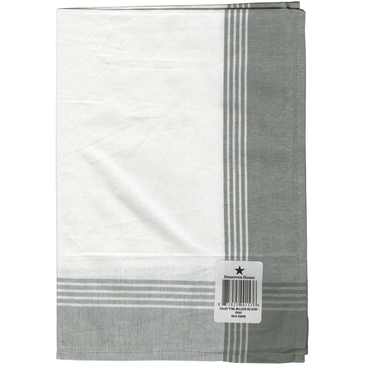 Tea Towel McLeod Blue and White by Dunroven House