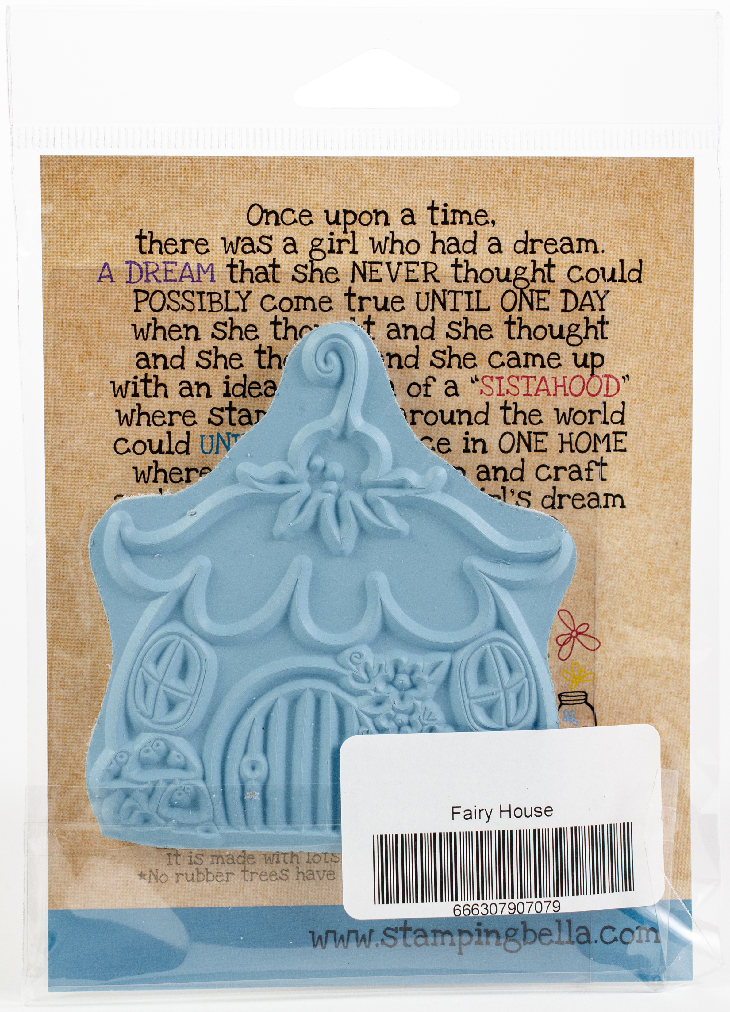 Stamping Bella Cling Stamps-Little Bits Fairy House