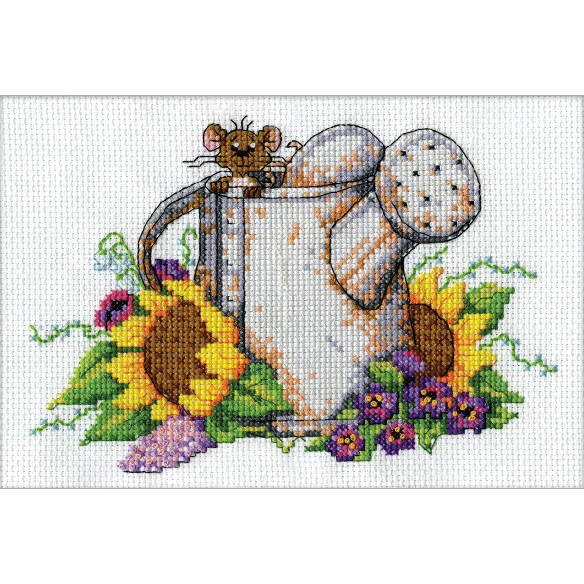 Counted cross stitch вышивка