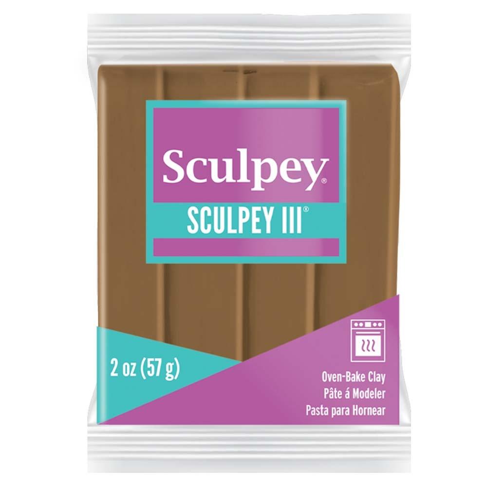 Sculpey III Polymer Clay 2oz-Hazelnut
