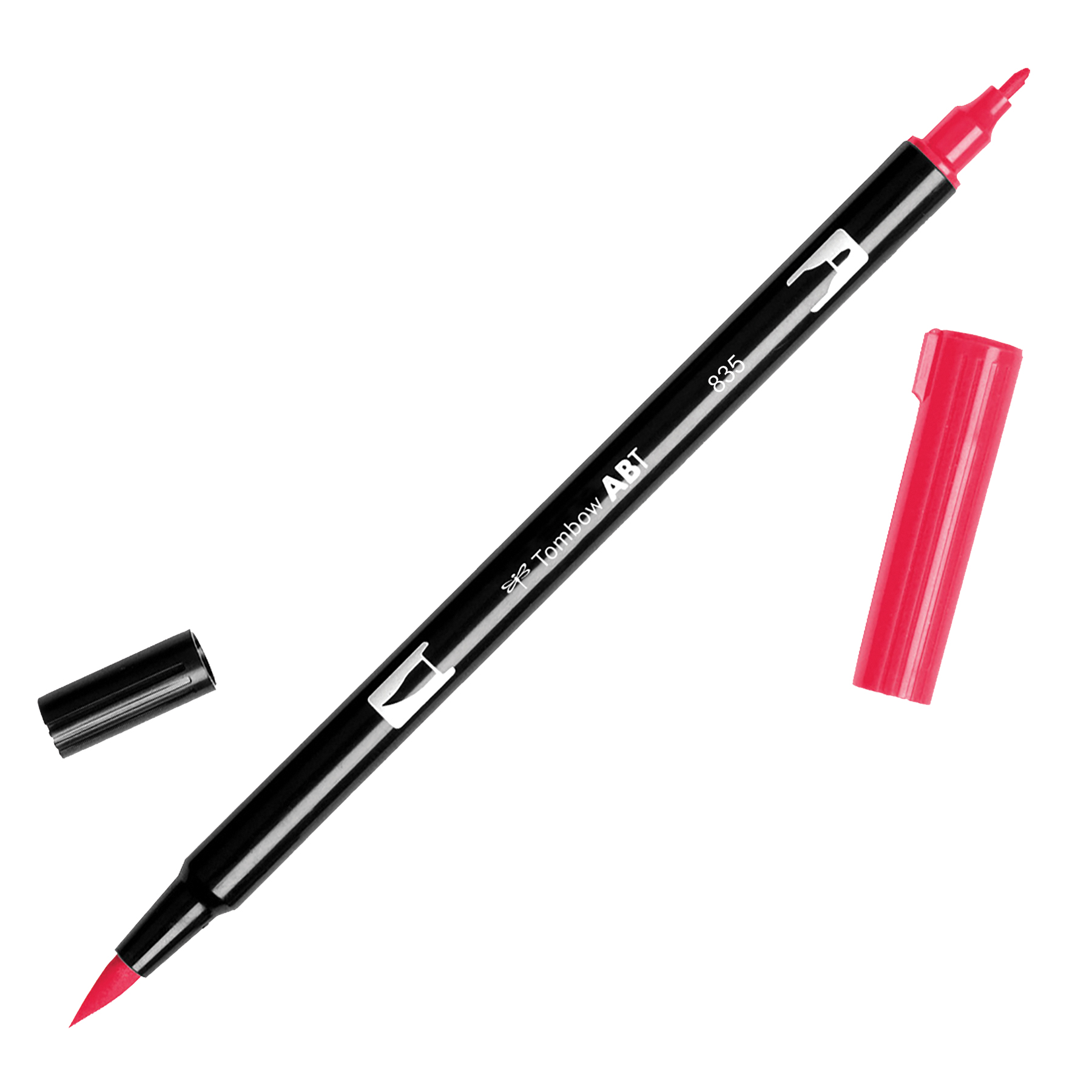 Tombow Dual Brush Marker Open Stock-835 Persimmon
