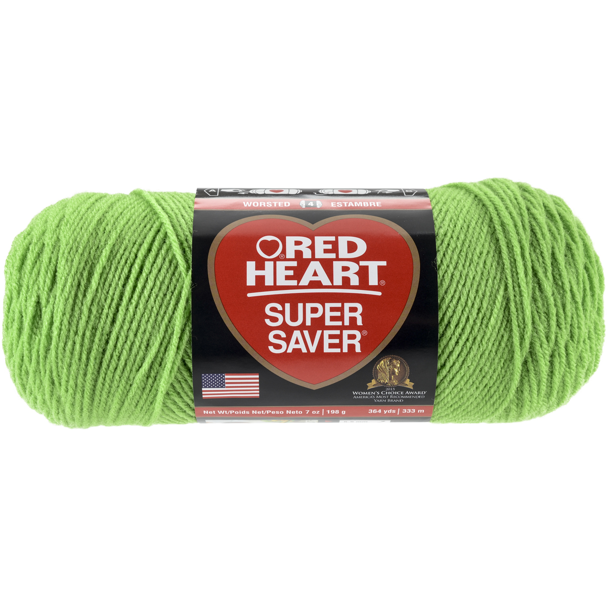 Red Heart Super Saver Jumbo Yarn. Super Saver has been America's best selling yarn for over 70 years. The great wash performance and no dyelot solids makes this large skein the Go-To yarn for wear-ables; home accessories; and more.
