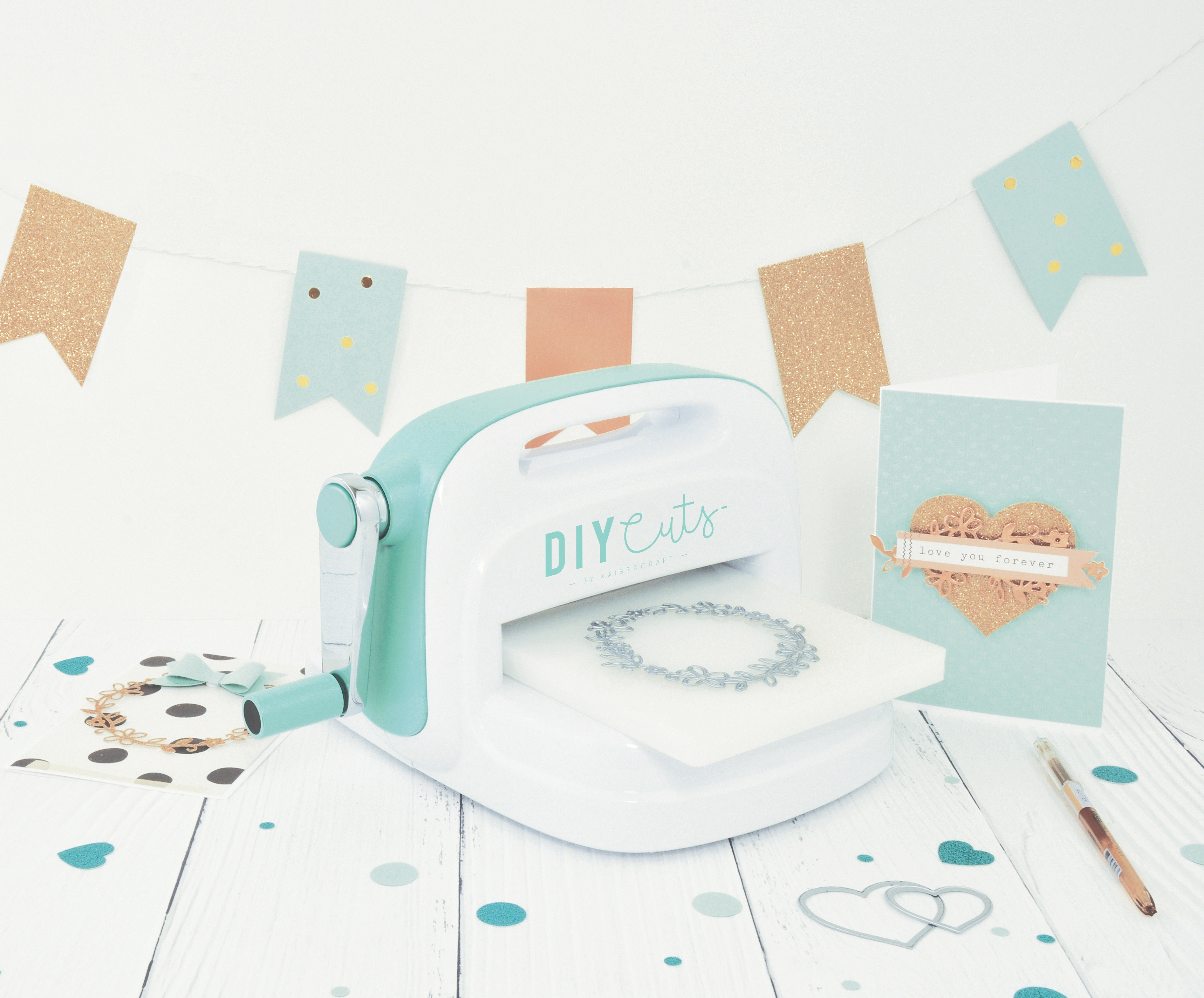 DIYcuts Cutting and Embossing Machine-