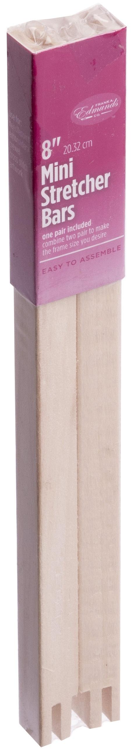"Frank A 2008 Edmunds Mini Stretcher Bars-8/""X.5/"""