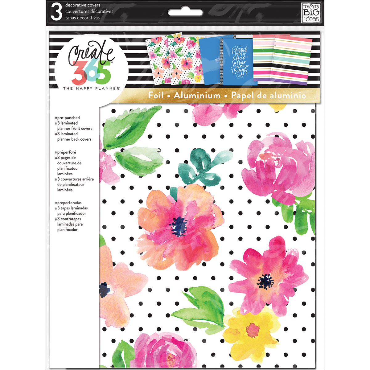 Create 365 Big Planner Covers-April Flowers