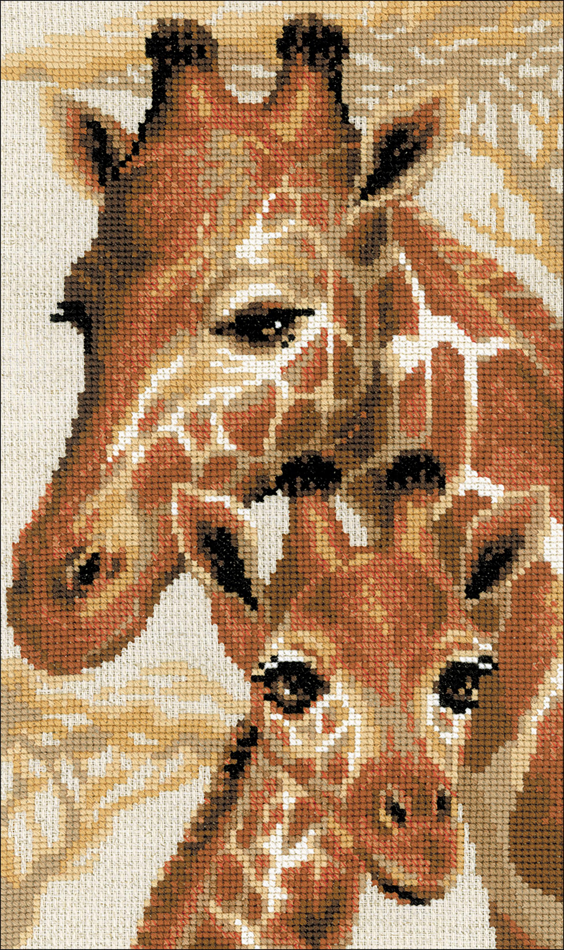 "10 Count RIOLIS Counted Cross Stitch Kit 8.75/""X15/""-Giraffe"