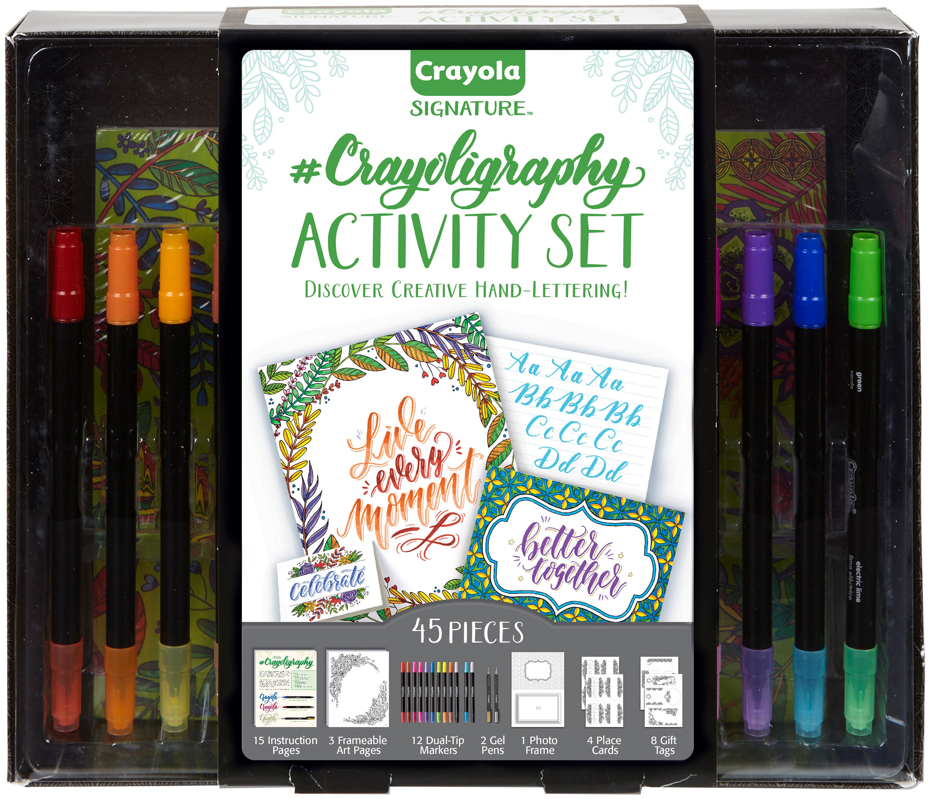 Crayola Signature Crayoligraphy Activity Set