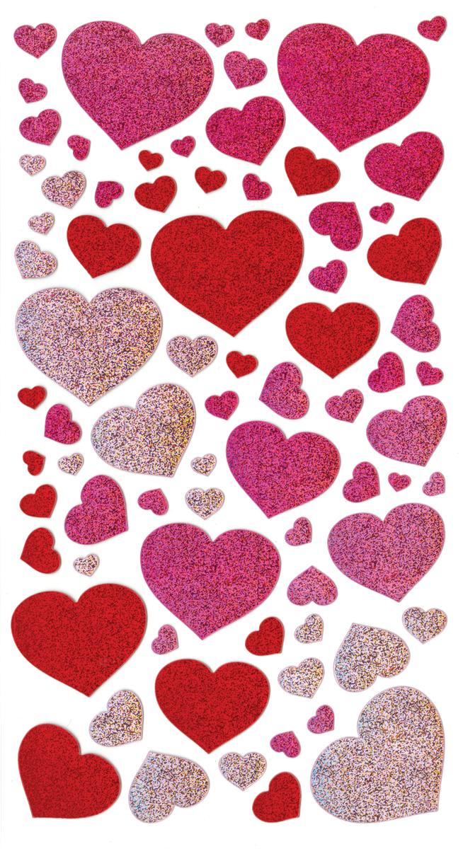 E5200067 Sticko Stickers-Blissful Hearts