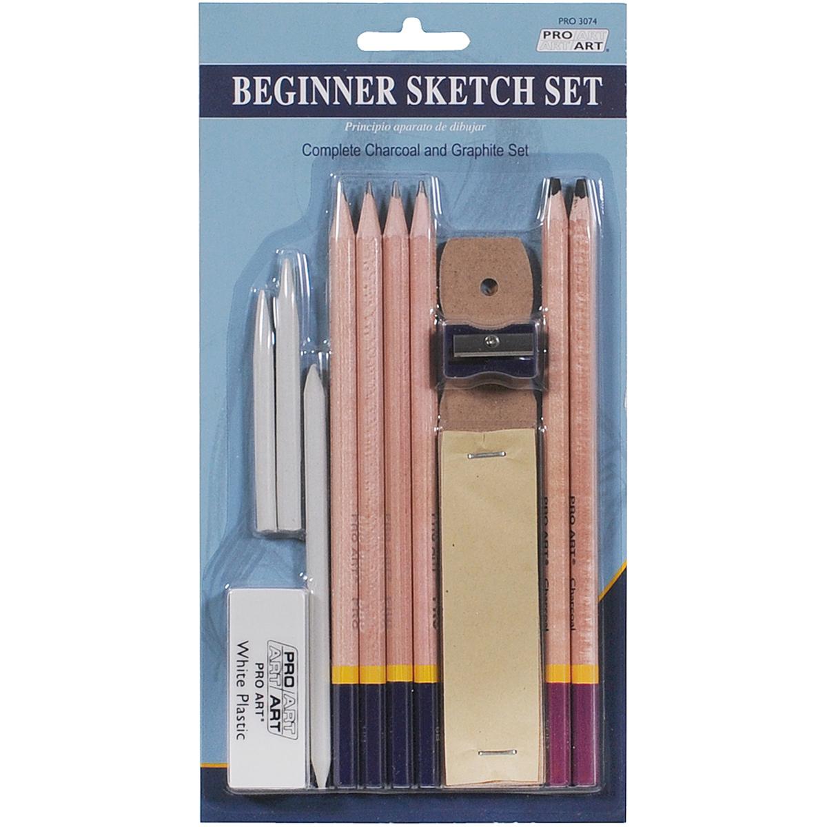 Pro Art Beginner Sketch Set Tanga