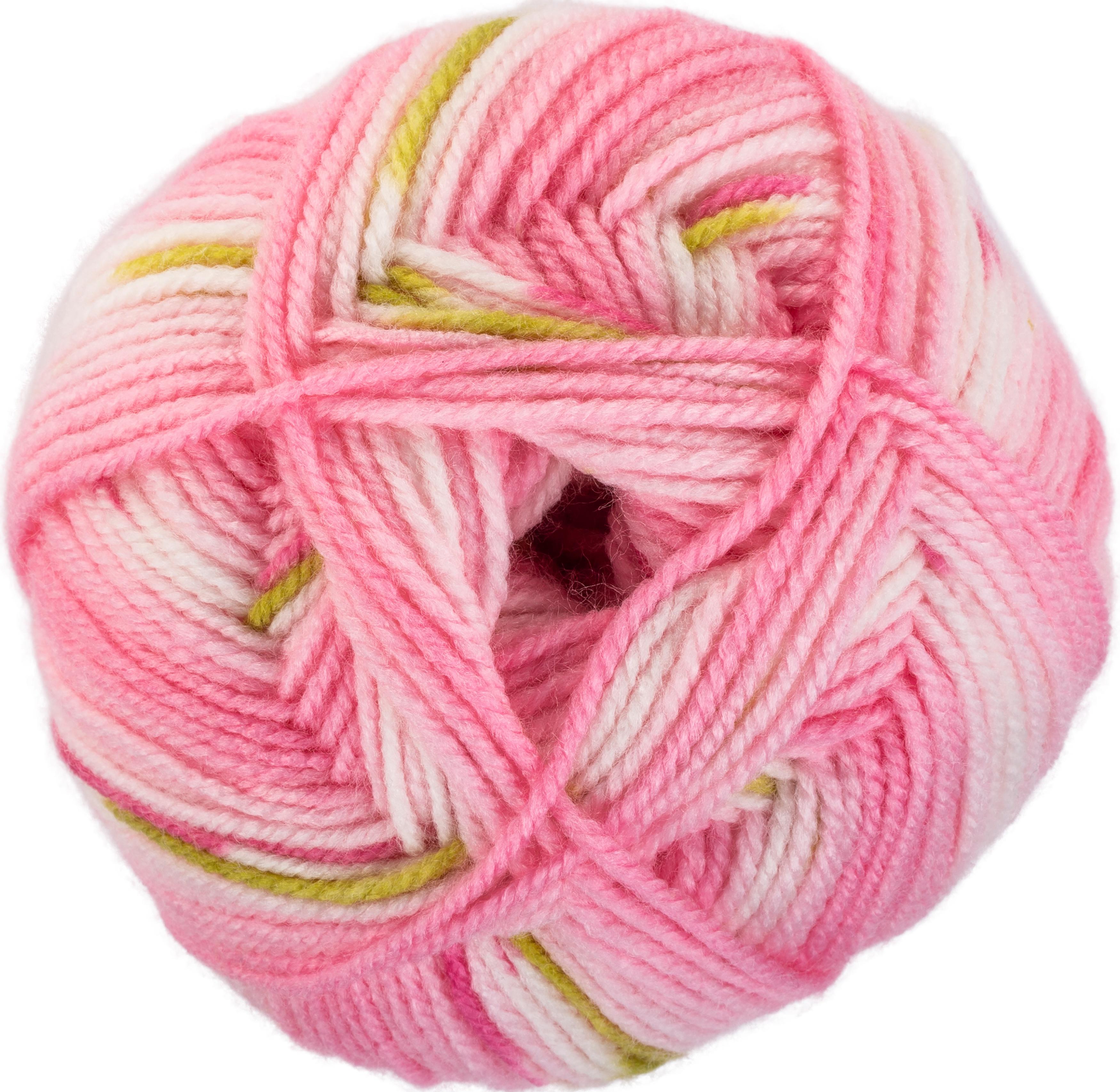 Red Heart Hugs /& Kisses Yarn-Hot Pink