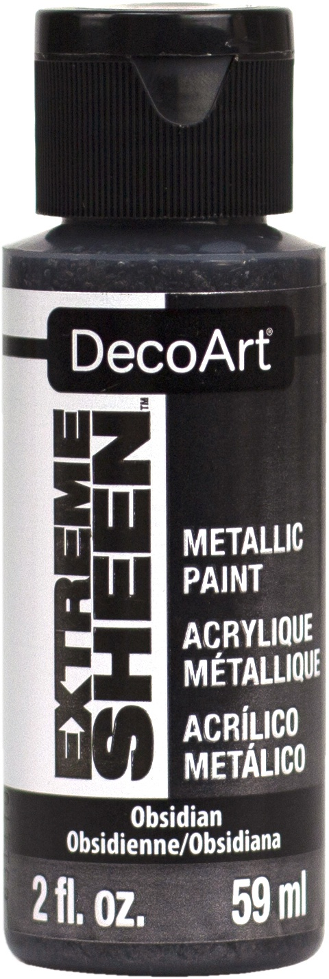 DecoArt Extreme Sheen Paint 2oz-Obsidian
