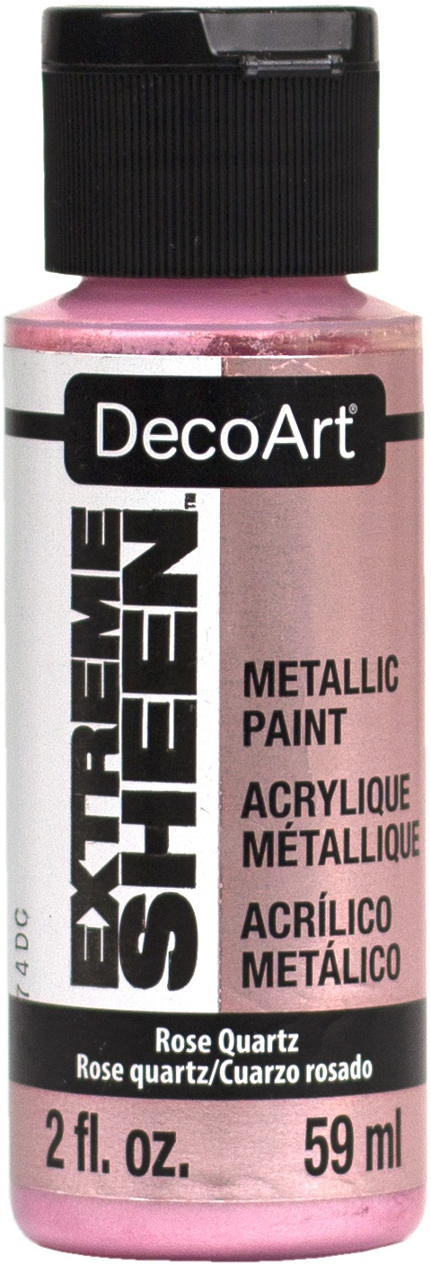 DecoArt Extreme Sheen Paint 2oz-Rose Quartz