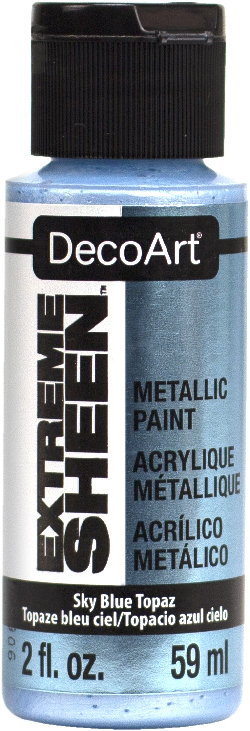 DecoArt Extreme Sheen Paint 2oz-Sky Blue Topaz