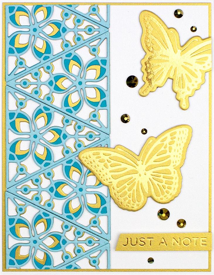 Spellbinders Shapeabilities Die D-Lites-Kaleidoscope Triangles