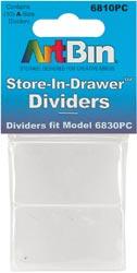 Art Bin Store In Drawer Dividers 10/Pkg 6810PC