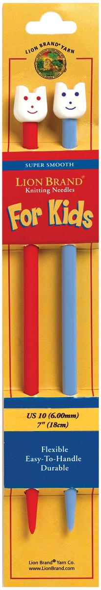 """Kids Knitting Needles 7""""-Size 10/6mm"""