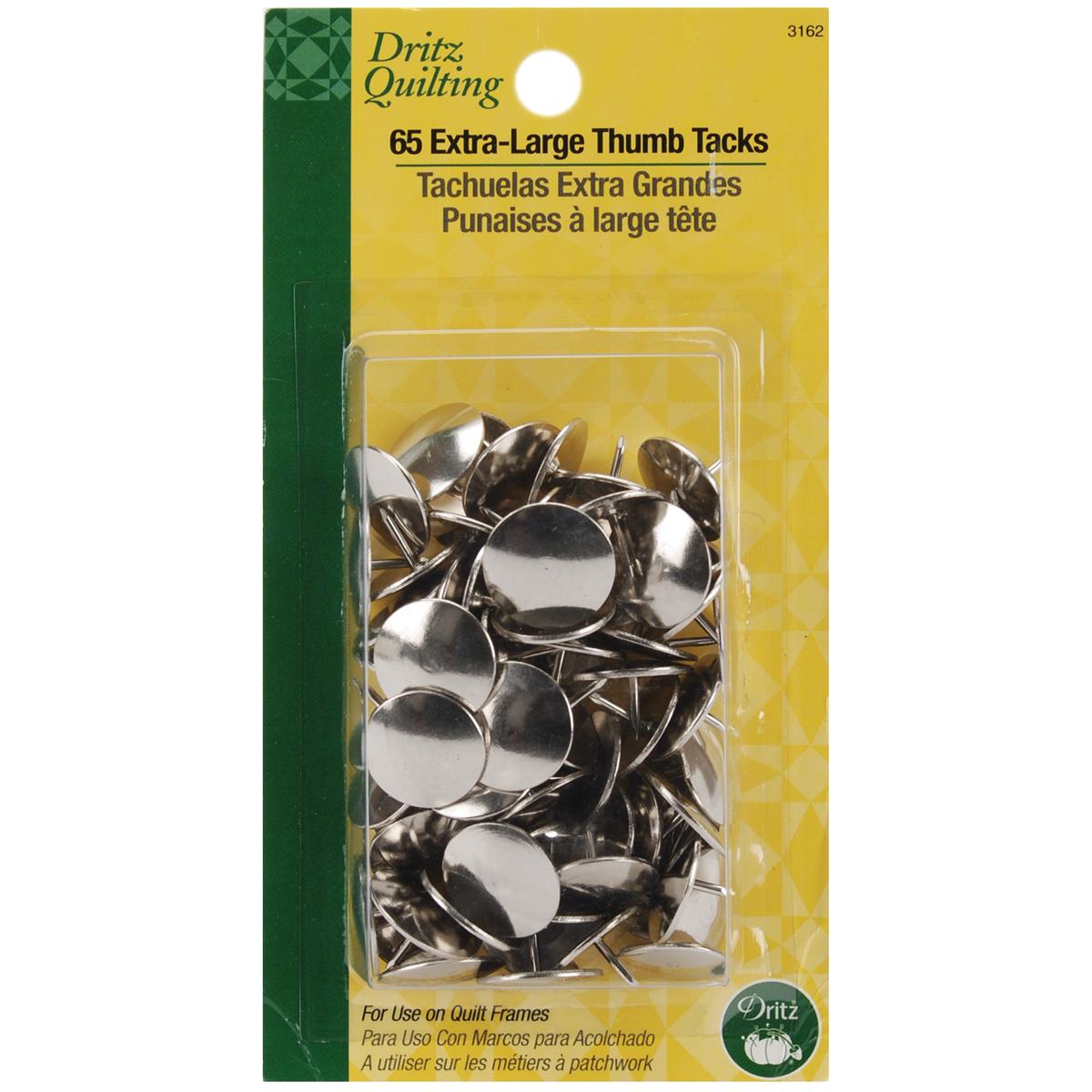 Dritz-Quilting-Extra-Large-Thumb-Tacks-625-034-65-Pkg