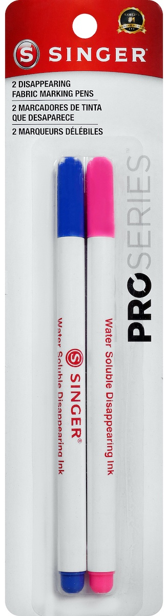 QuiltPro-Disappearing-Fabric-Marking-Pens-Fine-Pink-amp-Blue-2-Pkg