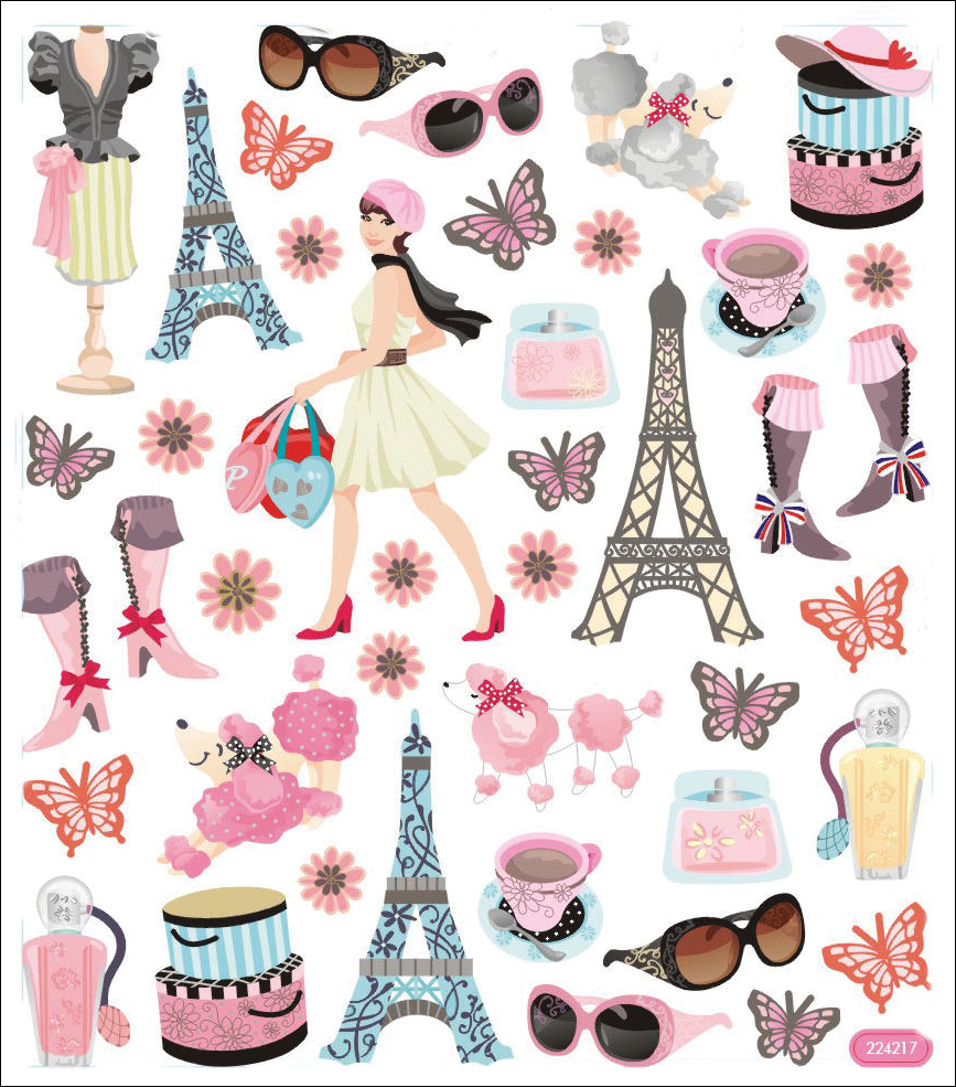 Multicolored-Stickers-Bonjour