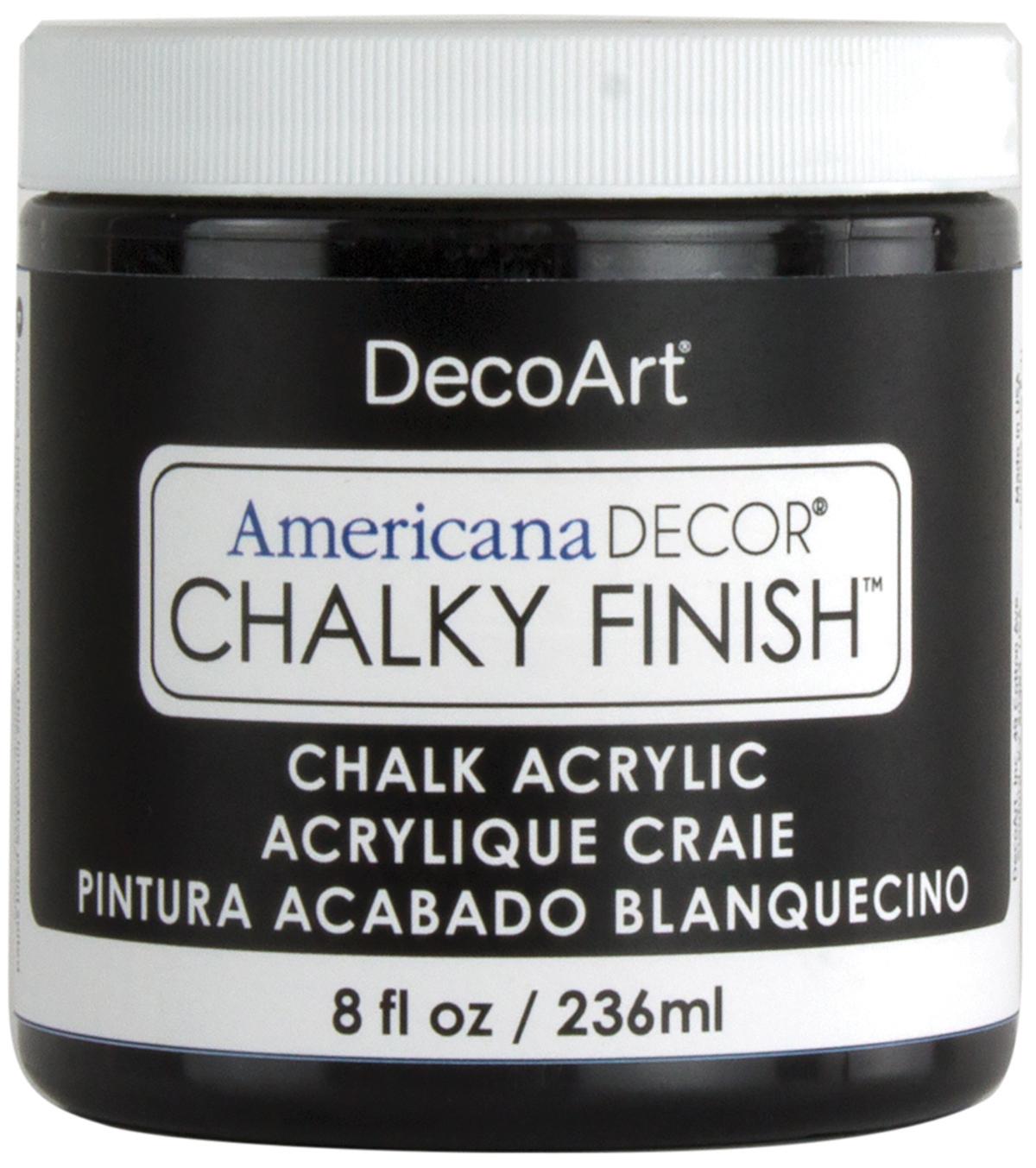 Decoart 8 Oz Carbon Americana Decor Chalky Finish Paint