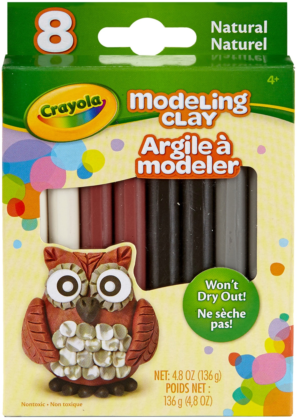 Crayola-Modeling-Clay-6oz-8-Pkg-Natural