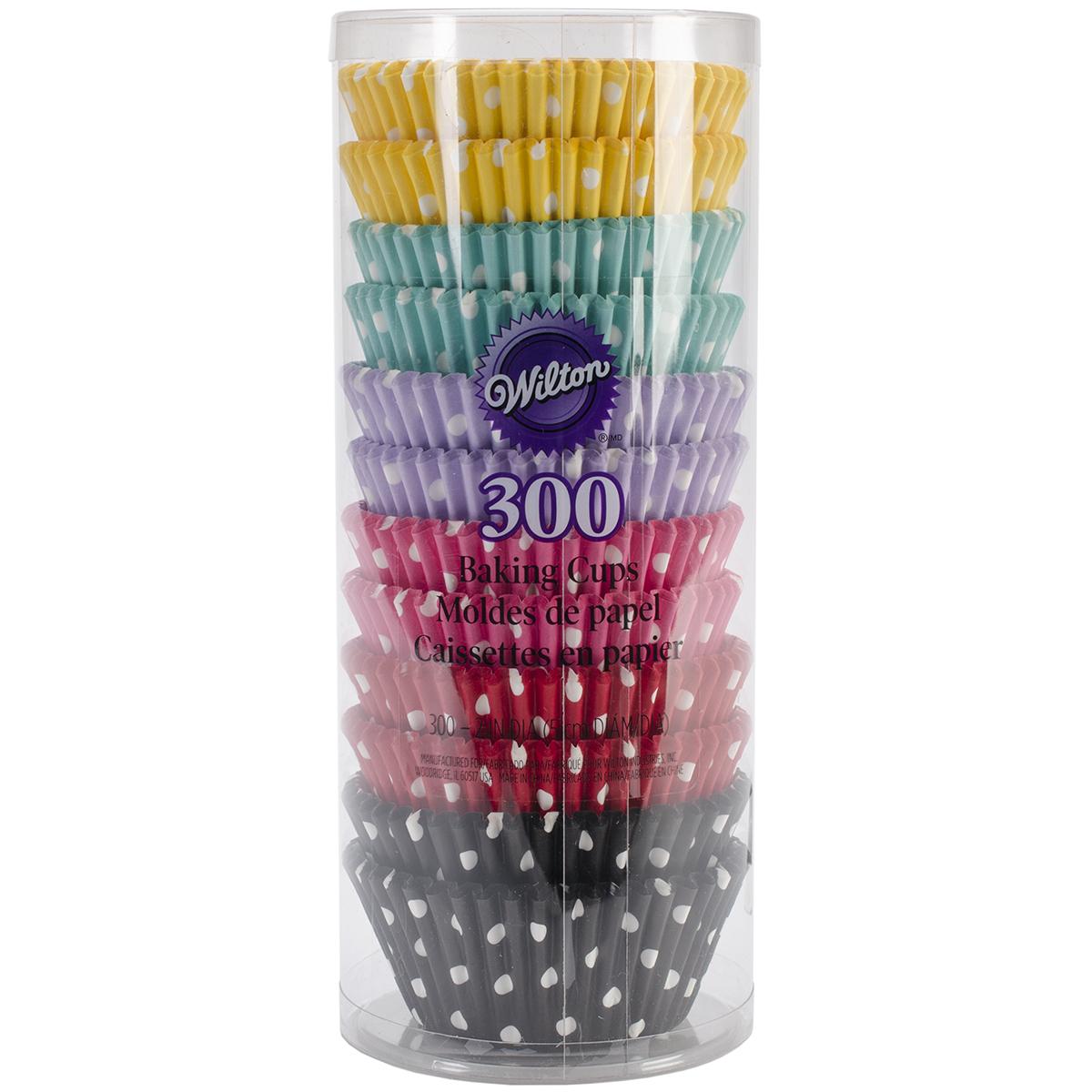Standard Baking Cups-Polka Dots 300/Pkg