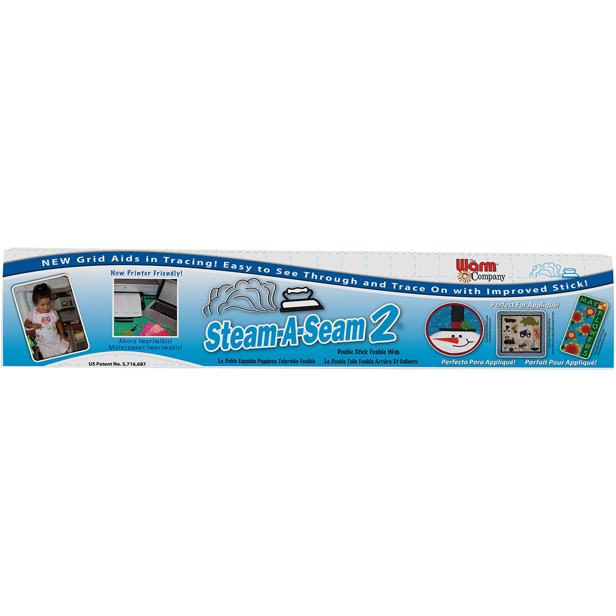 SmASeam 2 Double Stick Fusible Web 5524