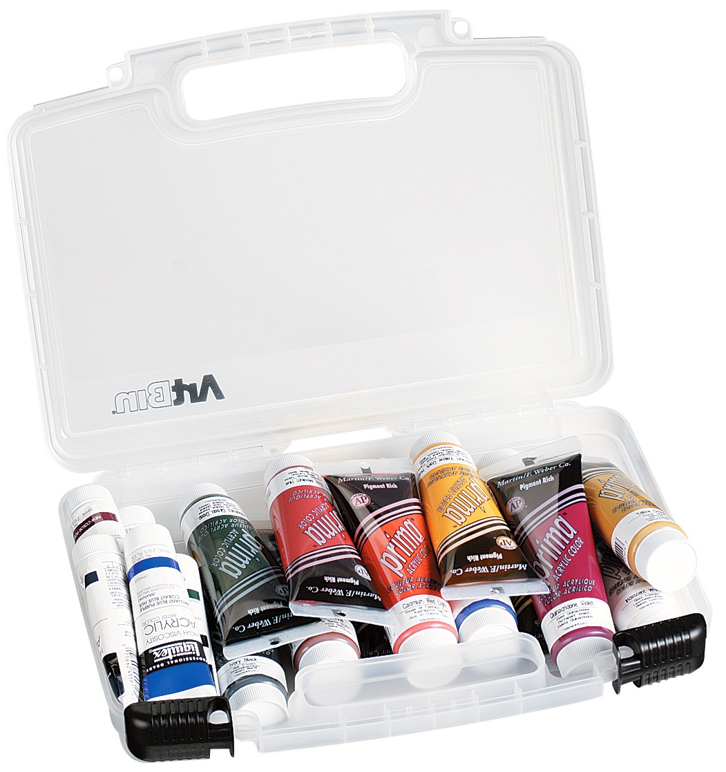 """ArtBin Quick View Carrying Case-14""""X3.375""""X10.25"""" Translucent"""