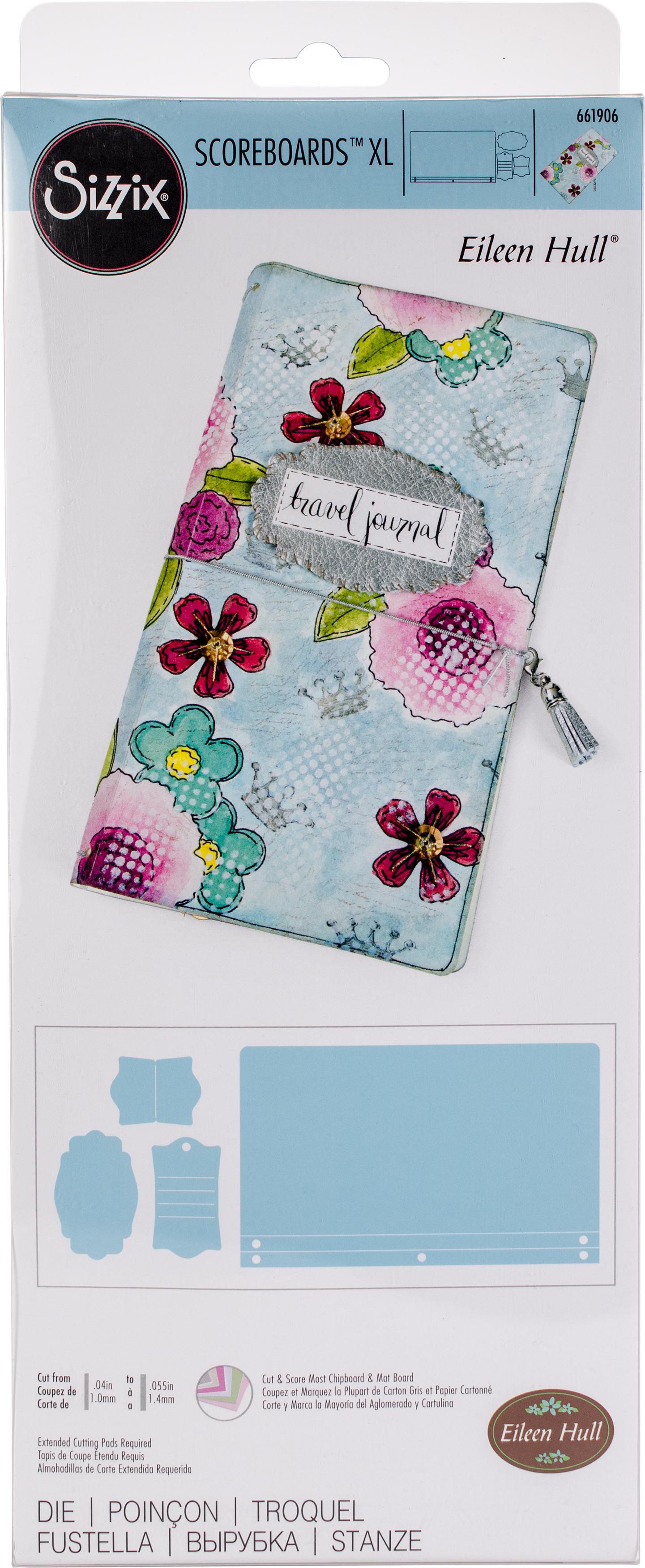 designer Eileen Hull Sizzix Bigz XL Journal die #661906 Retail $39.99 AWESOME