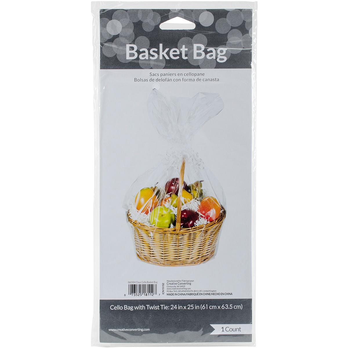 Cello-Basket-Bag-24-034-X25-034-Clear